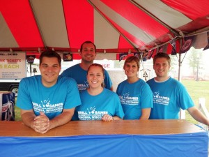 Thanks to ULINE for rocking the beverage tent last year!